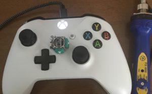 故障したXBOX ONE S コントローラーの画像