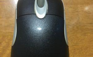 チャタリングを起こしたMicrosoft Intellimouse Optical 1.1 A (ブラック)