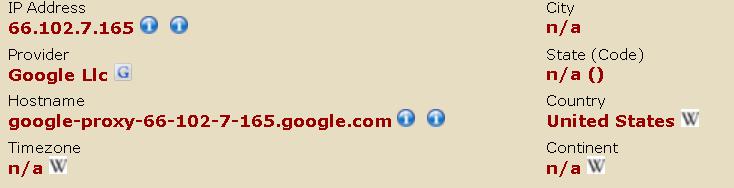 グーグルのアドセンス審査中のアメリカのグーグル社員によるアクセス履歴