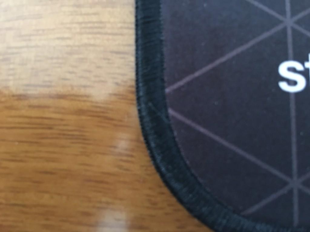 耐久性向上の為の劣化を防ぐステッチ加工が施されている