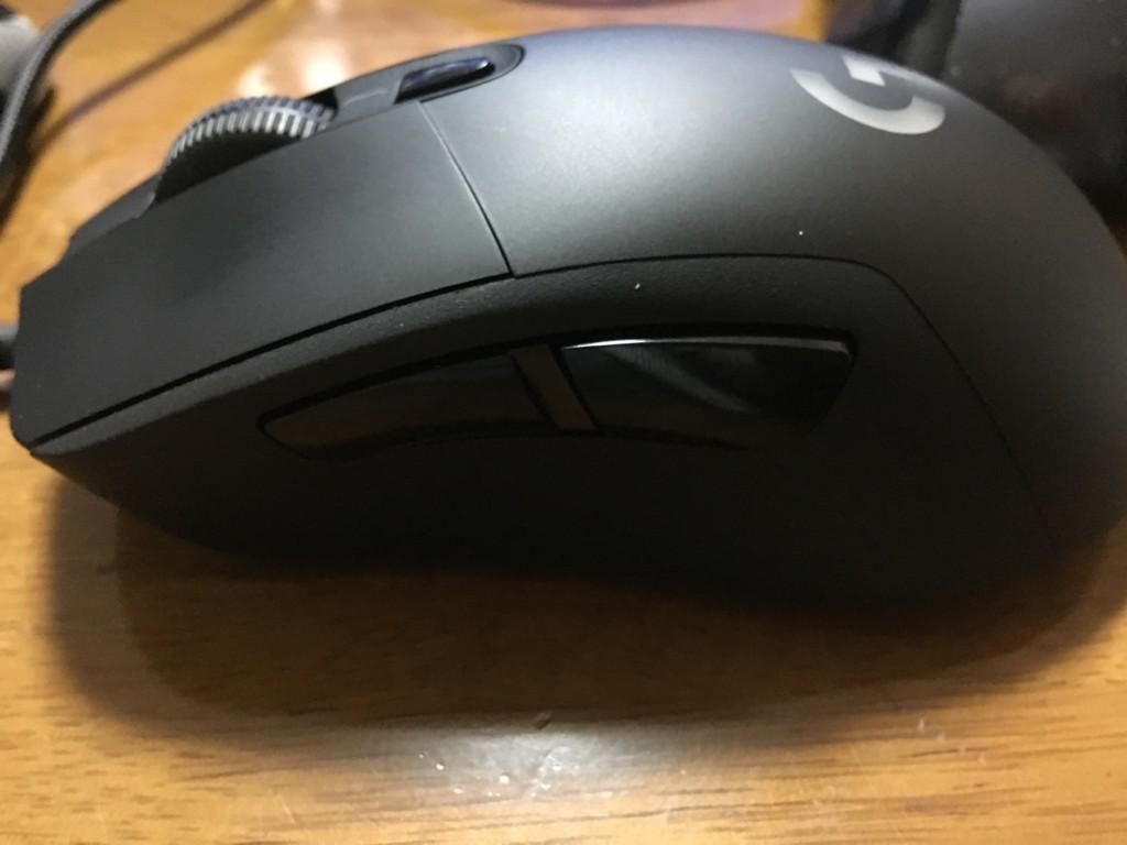 G403のサイドボタン