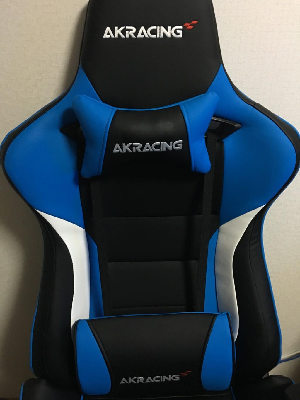 AKRACINGゲーミングチェアPRO-X-BLUE