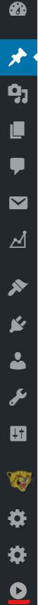 メニューバーがアイコンだけしか表示されなくなってしまった状態から元に戻すにはメニューバーの一番下にある三角形のボタンをクリックすることでもとに戻すことができる
