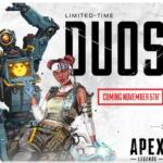 Apex Legendsでデュオモードが期間限定で実装されることが決定