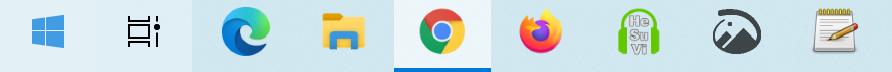 Windows 10でタスクバーに設置してある検索バーを非表示にする方法