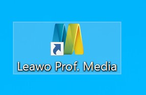 Leawo Blu-ray コピーの機能が入っているソフトであるLeawo Prof. Mediaを起動します。