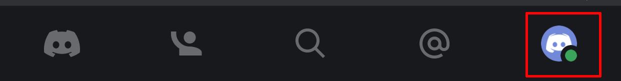 スマホ版のDiscordの中にあるご自身のDiscordのアイコンをタップして
