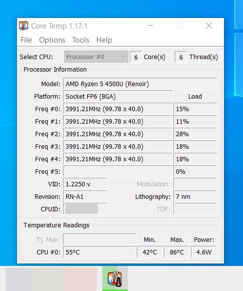 Windows 10の起動時にCore Tempを自動起動させるようにする方法