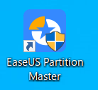 EaseUS Partition Masterのアイコン